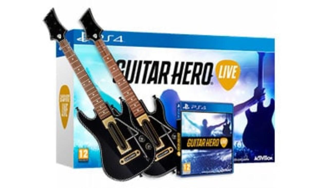 Игра Guitar Hero Live для PS4